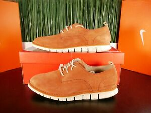 Cole Haan Zerogrand Stitchout Oxford Mens Casual Shoes Orange Suede Size 10.5