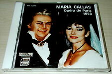 MARIA CALLAS-OPERA DE PARIS 1958-CD 1987-NO BARCODE-LEGION OF HONOR BENEFIT