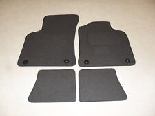 Audi TT 1999-2006 Fully Tailored Deluxe Car Mats in Grey with Grey Trim