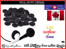 8pcs Soft Foam Sponge Earphone Headphone Earbud Ear Pads Covers Replacement