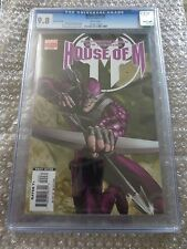 House of M #4 CGC 9.8 Very Rare Variant 1st Appearance of Layla Miller (G005)