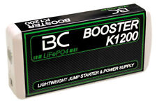 BC K1200 BOOSTER AVVIATORE AUTO MOTO CARICABATTERIE EMERGENZA USB IPAD IPHONE S5