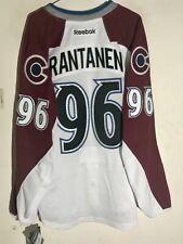 Reebok Authentic Nhl Colorado Avalanche Mikko Rantanen Jersey White Size 46