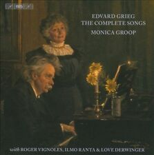 EDVARD GRIEG: THE COMPLETE SONGS NEW CD