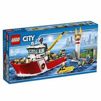 LEGO® City 60109 Feuerwehrschiff  - NEU / OVP