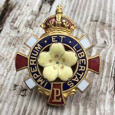 More details for primrose league vintage enamel lapel badge