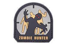 Mil-Spec Monkey airsoft Patch - Zombie Hunter PVC - foliage/tan