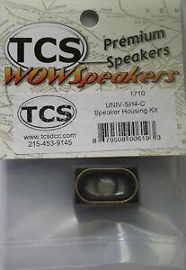 TCS UNIV-SH4-C Universal Speaker housing with 25mm x 14mm oval speaker