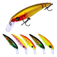 6PCS Fishing Multi section Lure 2 Segment Swimbait Minnow 10.5cm/13g