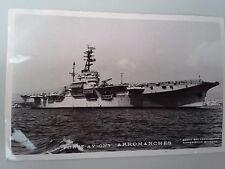 Cartes postale Française marine, Lot de 4 pièces.