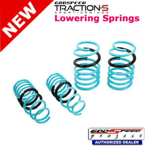 Traction-S Sport Springs For PORSCHE CAYMAN 981 12-16 Godspeed# LS-TS-PE-0007-B