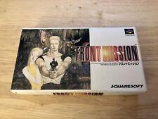 Front Mission, Nintendo Snes,🇯🇵 Super Famicom, Version Japonesa🎌Completo.