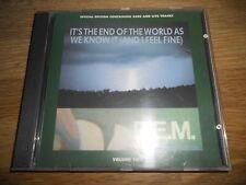 """R.E.M. """"IT´S THE END OF THE WORLD AS WE KNOW IT (AND I FEEL FINE)"""" 1987 LIVE CD*"""