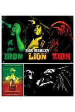 Bob Marley 3 Individual Posters! Iron Lion Black & White Concert Poster New!