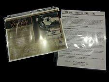 ICONS Darth Vader Lightsaber ORIGINAL COA & Instructions Paperwork Certificate