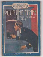 Pour une femme Paul DANCRAY Rouff Mon roman N° 597