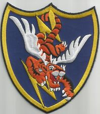 ARMY AIRFORCE AAF 23rd FIGHTER GROUP WWII FLYING TIGERS Iron On Military Patch