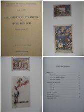 L'illustration byzantine du Livre des rois par J Lassus Archeologie chretienne