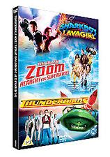 Zoom-Thunderbirds-The Adventures of Shark Boy and Lava Girl -DVD`s  New & Sealed