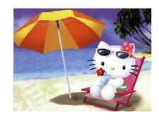 Hello Kitty At the Beach 15 TShirt Iron on Transfer 5x7