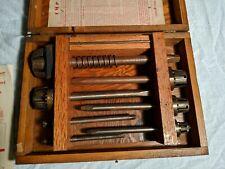 Vtg Antique Steam Engine Boiler Train Aab Flat Seat & Bevel Valve Refacer Tool