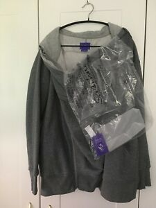 Séraphine Connor 3-in-1 Maternity Hoodie Charcoal Grey Seraphine size L
