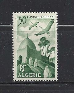 ALGERIA - C8 - MH - 1949 - STORKS OVER MOSQUE