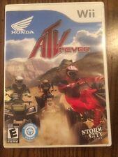 Honda ATV Fever (Nintendo Wii, 2010) Complete