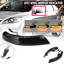 New Sequential Mirror Indicator Dynamic Signal Light For Ford Focus 3 MK3 11-18