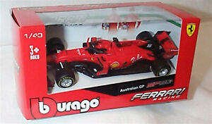 F1 2020 Ferrari SF90 No 16 Leclerc Australian GP New in box 1-43