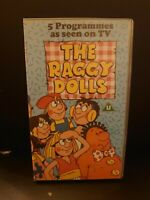 THE RAGGY DOLLS, THE BIG TOP & OTHER STORIES-VHS VIDEO SMALL BOX YORKSHIRE TV.