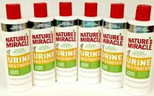 New listing Lot of 6 Nature's Miracle Dog Stain Enzymatic Urine Destroyer 16 oz