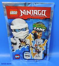LEGO ® Ninjago personaggio 891724 Limited Edition Zane con Shuriken-wirbler/POLYBAG