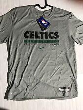 L Nike 2020-21 Boston Celtics NBA Team Issued Practice Shirt CK8183-063 SS