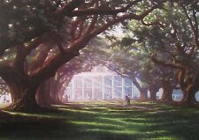 Oak Alley by RC Davis 17 x 23 (Signed & Numbered)