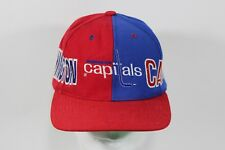 Vintage WASHINGTON CAPITALS Officially Licensed Hockey Snapback Hat NHL D.C.