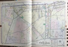 1916 Montgomery County North Pa, Edge Hill, Glenside Reproduction Plat Atlas Map