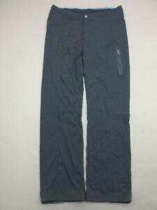 Columbia Size 8 Womens Black Athletic OmniShield Nylon Outdoor Hiking Pants T669