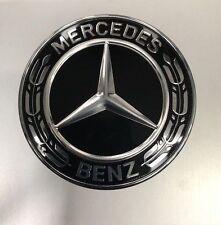 Genuine Mercedes-Benz Black Front Bumper/Bonnet Badge A0008171801