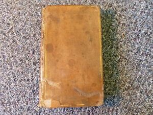 Seneca's Morals by Way of Abstract Sir Roger L'Estrange 1775 Leather