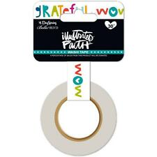 Wow God - Paper Washi Tape 15 mm x 30 Feet - by Illustrated Faith