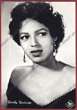 DOROTHY DANDRIDGE 02 ATTRICE ACTRESS ACTRICE CINEMA MOVIE USA Cartolina FOTOGRAF