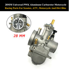28MM Universal PWK Aluminum Carburetor Motorcycle For 2 Stroke Cycle 80-350cc