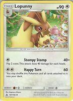 Pokemon SM Ultra Prism Card: Lopunny - 107/156