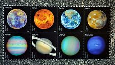 2016USA #5069-5076 Forever - View of Our Planets - Block of 8  Mint NH postage