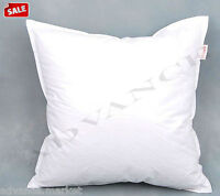 DUCK FEATHER CUSHION INNER PADS INSERTS EXTRA FILLED
