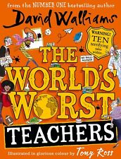 The World's Worst Teachers by David Walliams New Hardback Book