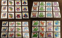 Childrens Character Temporary Tattoos Transfers 22 different designs 12+24 pack
