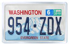 WASHINGTON USA LICENSE PLATE FRIDGE MAGNET SOUVENIR IMAN NEVERA