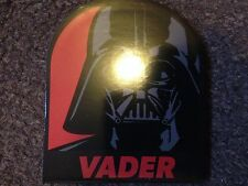DISNEY STAR WARS TACTICAL MEMO PADS 40 PRINTED SHEETS  - VADER
